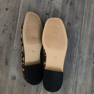 Something Navy Shoes - NWT Something Navy Leopard Loafers